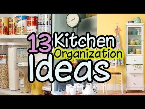 13 Kitchen Organization Ideas - Home Organizing Ideas