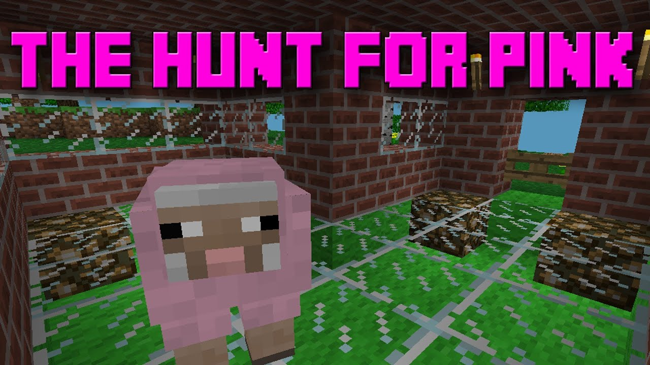 minecraft how to make a pink sheep banner