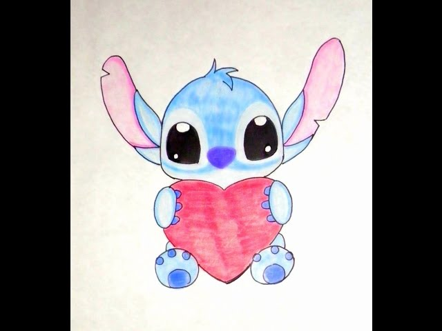 Dibujar Un Stitch Facil Y Rapido Tierno Stitchs 123vid