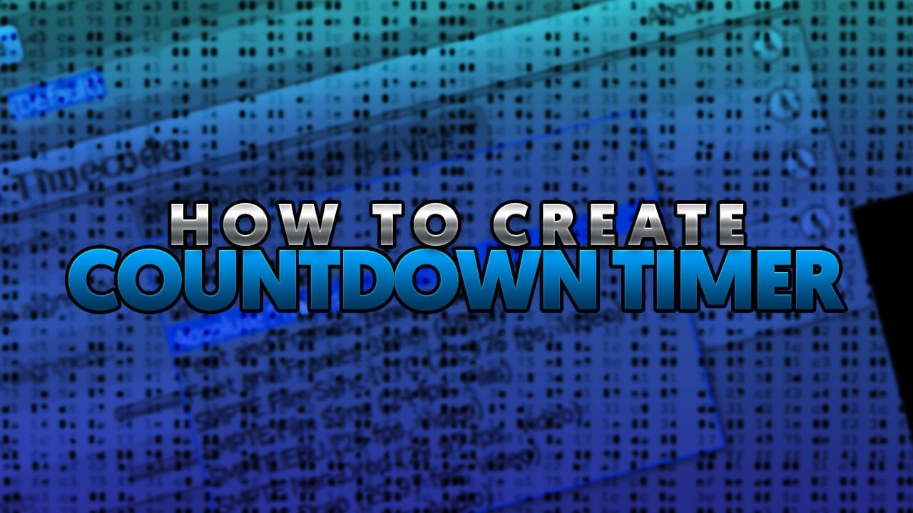How To: Create A Countdown Timer In Vegas Pro 14, 13 & 12 2016
