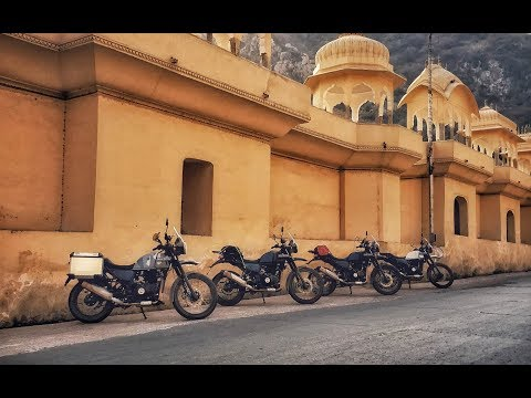 Unique Contest in Jaipur | Royal Enfield Himalayan Sleet
