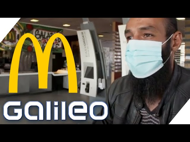 McDonald's gegen Corona: Diese Filiale hilft aktiv!   Galileo   ProSieben