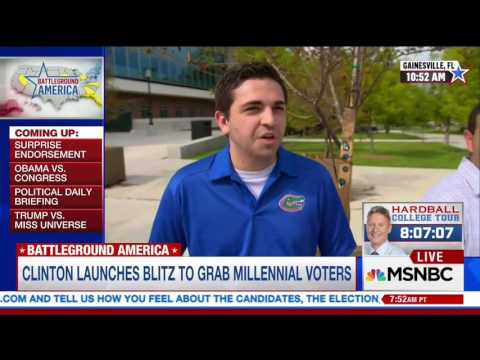 MSNBC: Struggles With Millennial Voters 'a...