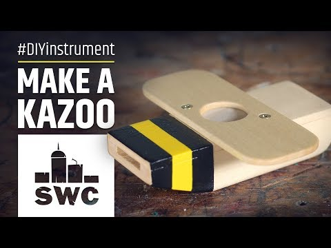 How to make the bee kazoo