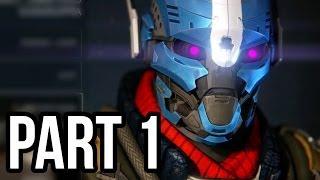 Destiny Gameplay Walkthrough Part 1 - The Titan Exo (PS4 Alpha)