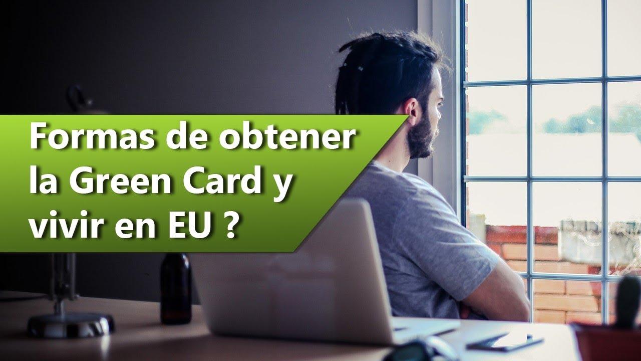 Green Card. ¿Cómo obtenerla para vivir en EU?