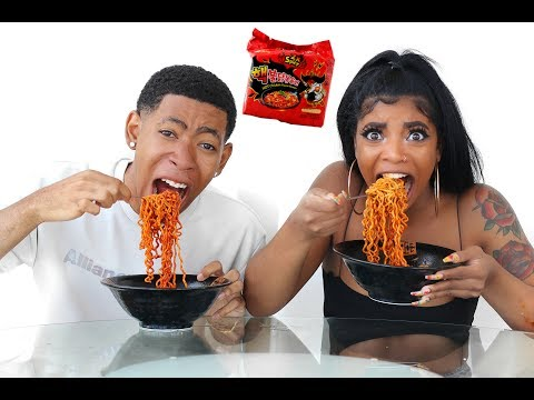 Download Youtube: 2X SPICY NUCLEAR RAMEN CHALLENGE (DO NOT TRY)