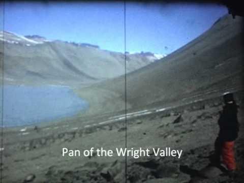 Distant view of Vanda Base, Wright Valley, Antarctica
