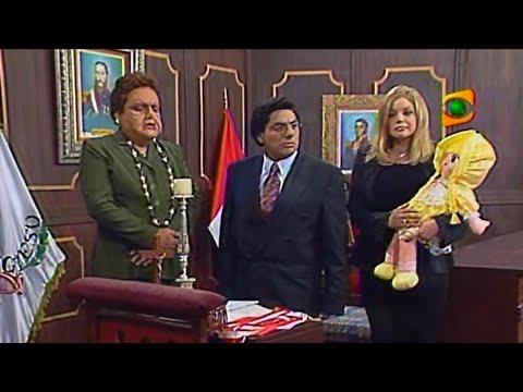 Shirley Cherres como Luciana Juramentacion Parlamentaria