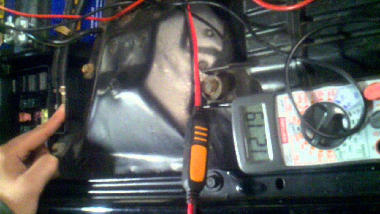 How To Test For Bad Alternator Internal Shorts Etc Youtube Subwoffer Wiring Diagram Resistance Tester Batteries