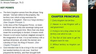 2020_1105 PWAM Bible Study: Kingdom Principles - Chapter 6 - KINGDOM TERRITORY - Part 2
