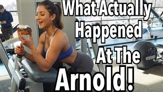 WHAT ACTUALLY HAPPENED IN OHIO!   ARNOLD SPORTS FESTIVAL 2017 VLOG
