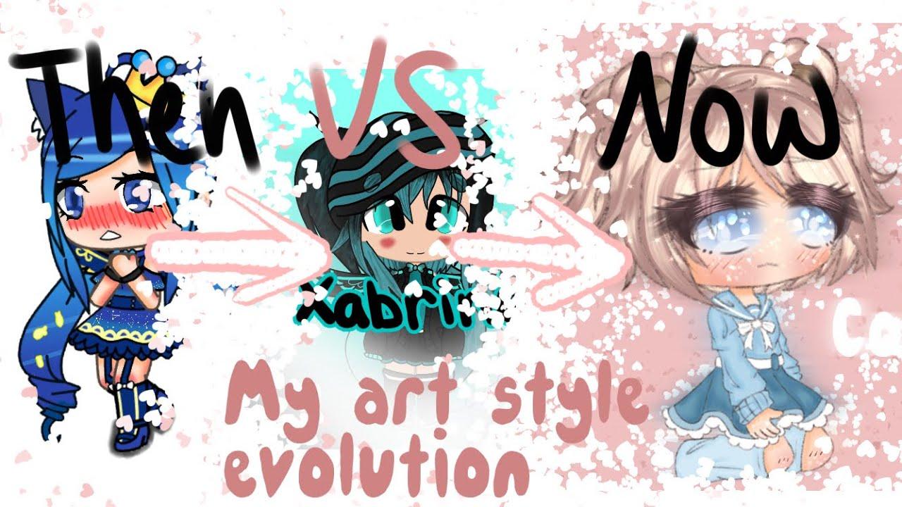 My Art Style Evolution~~