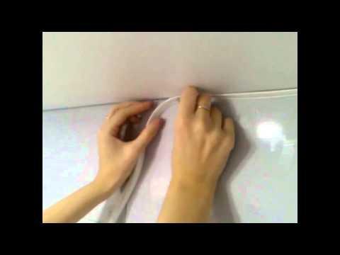 Заглушка для натяжных потолков