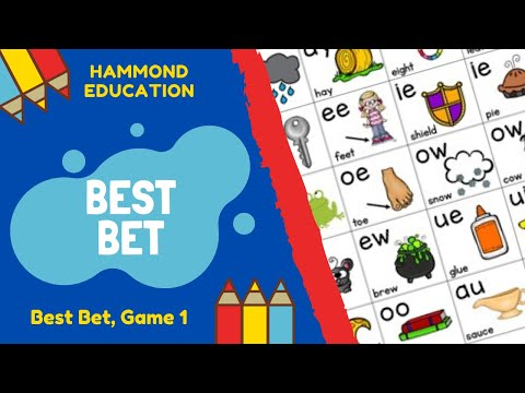 ✔Best Bet✔ - Game 1 | Hammond Education 👍