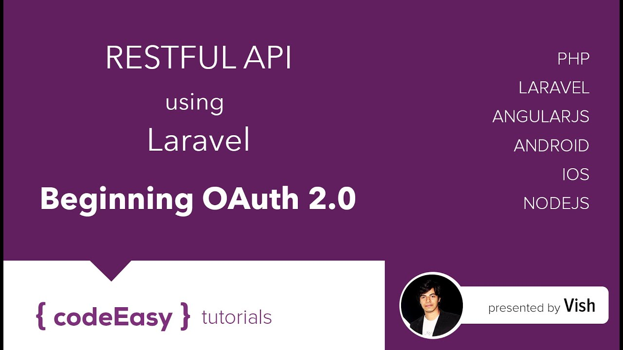 Creating Restful API using Laravel 5 1 - Beginning OAuth 2 0