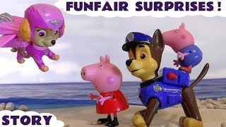 PAW PATROL Magic Surprise at Paw Patrol Jungle Blaze, Peppa Pig & Disney Cars Toy + Surprise Eggs