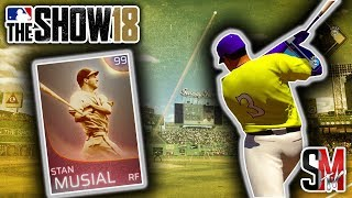 WOW Must See Ending! Immortal Stan Musial Debut! All Immortal Lineup! MLB The Show 18 Gameplay!