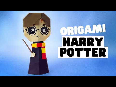How to make origami HARRY POTTER [easy origami]