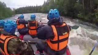 Рафтинг на реке Писто
