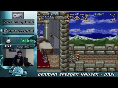 GSH 3 - Illusion of Gaia 100% Speedrun by BOWIEtheHERO