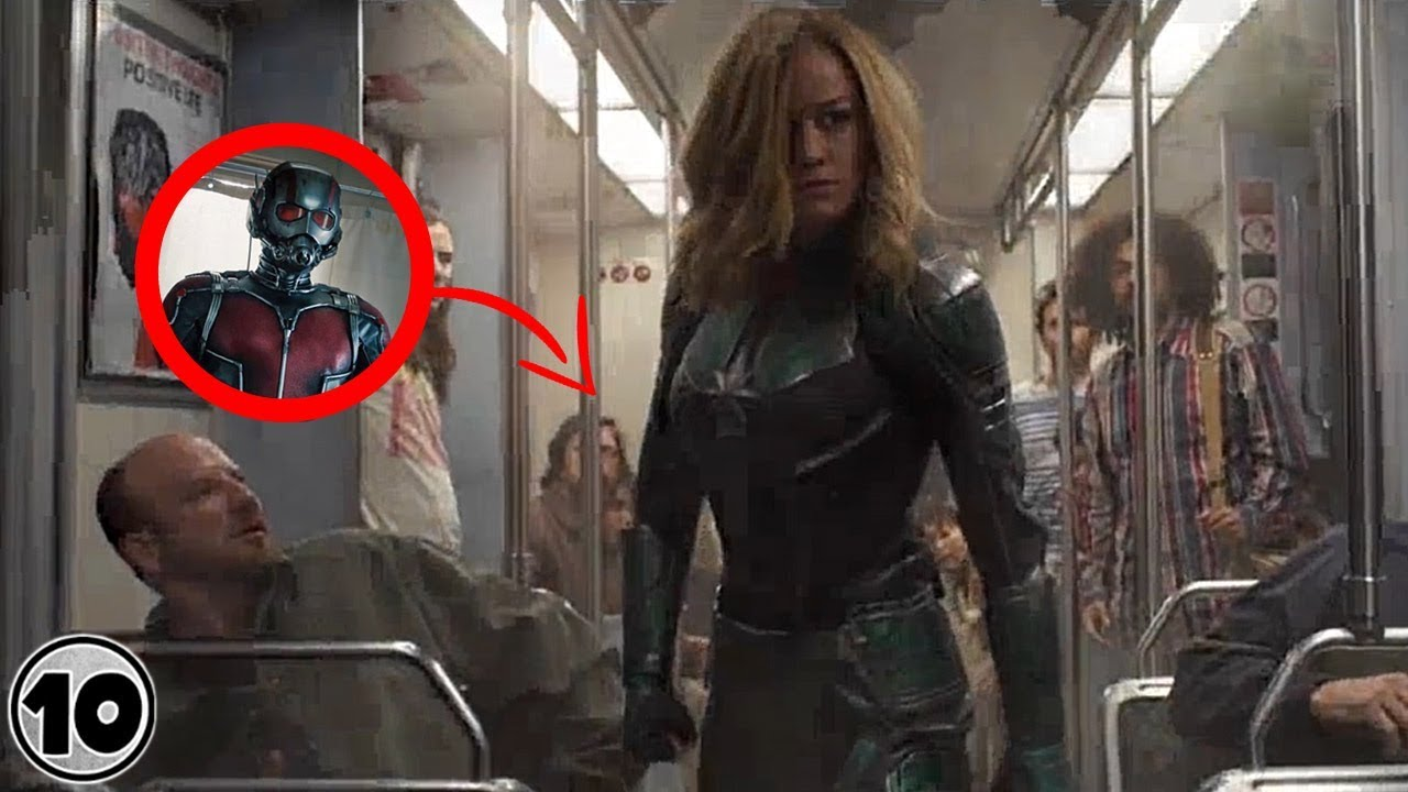 Download Easter Eggs You Missed In The Captain Marvel Trailer