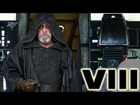 Mark Hamill's Reaction Returning to the Millennium Falcon After 30 Years - Star Wars The Last Jedi