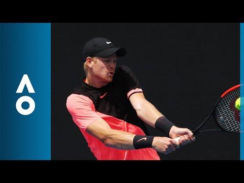 Kevin Anderson v Kyle Edmund match highlights (1R) | Australian Open 2018