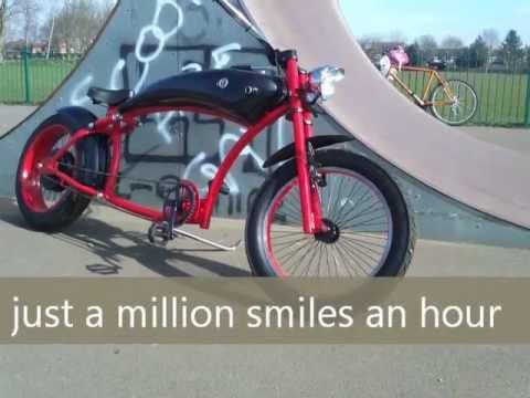 e bike enorm v2 custom cruiser doovi. Black Bedroom Furniture Sets. Home Design Ideas