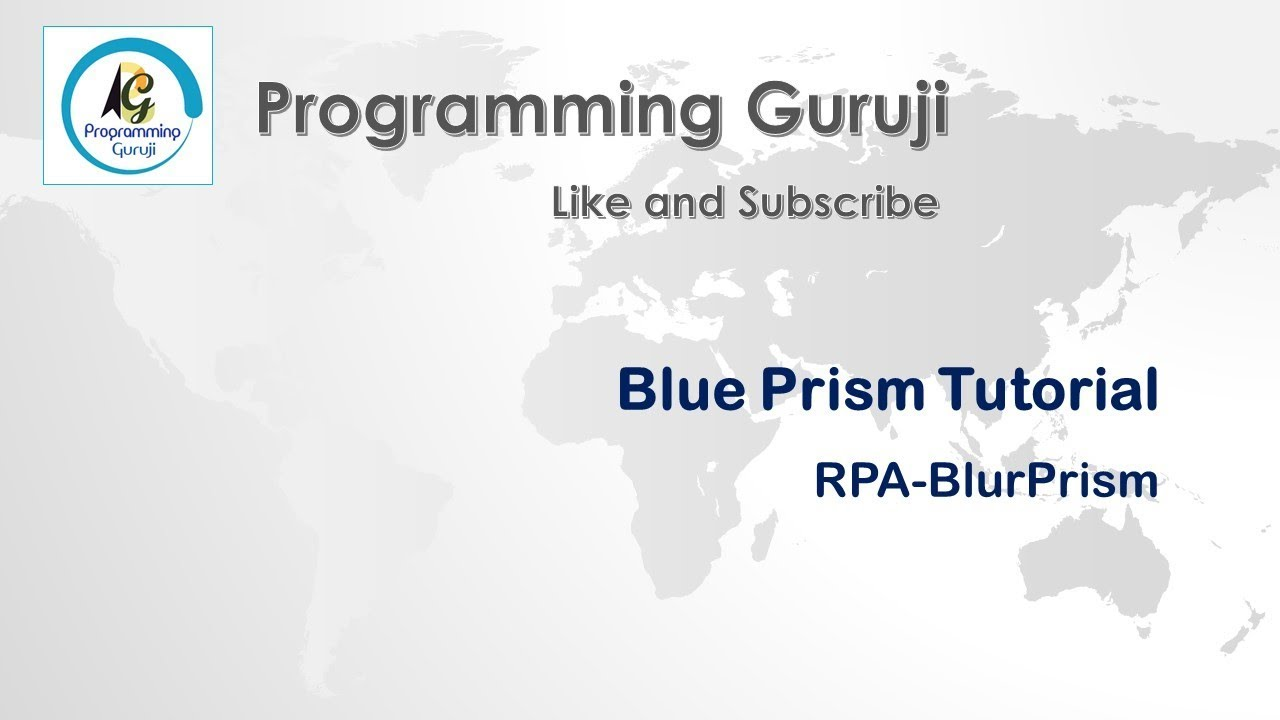 How To Learn And Certify Blue Prism Rpa Blue Prism Tutorials