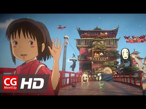 "CGI & VFX Breakdown HD ""Making of Tribute to Hayao Miyazaki"" by Dono | CGMeetup"