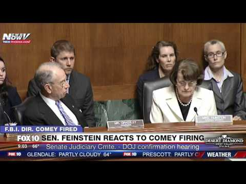 MUST WATCH: Sen. Feinstein Speaks About Comey Firing During DOJ Confirmation Hearing (FNN)