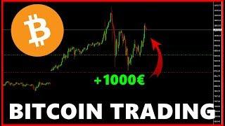Bitcoin Trading Deutsch | Über 1000€ Gewinn | Einfach Handeln | Broker & Handelsplattform