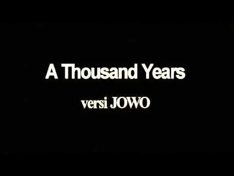 A Thousand year versi jowo