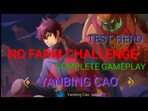 HEROES EVOLVED - YANBING CAO/ GAMEPLAY / NO FARM CHALLENGE / MAGIC  HERO / REVIEW