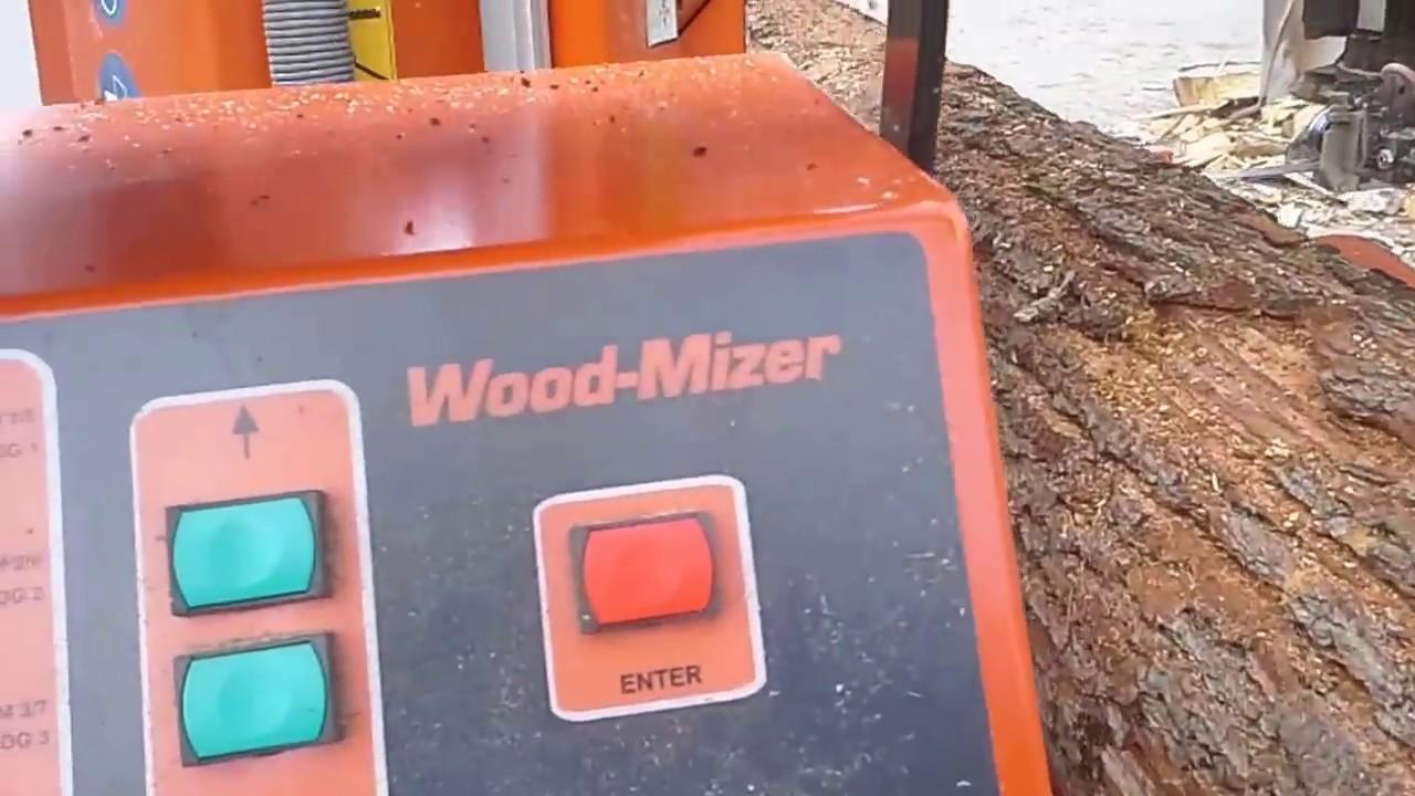 WOOD MIZER LT40 PLC-2