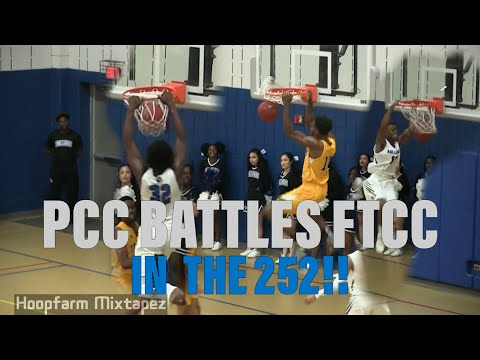 Pitt Community College And Fayetteville Tech Battle In The 252!!! Full Game Highlights!!
