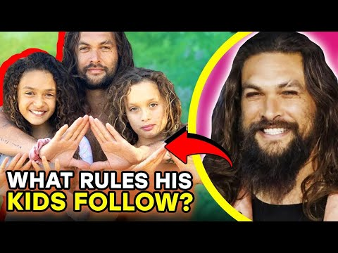 Weird & Cute Rules Jason Momoa's Kids Must Follow | ⭐OSSA