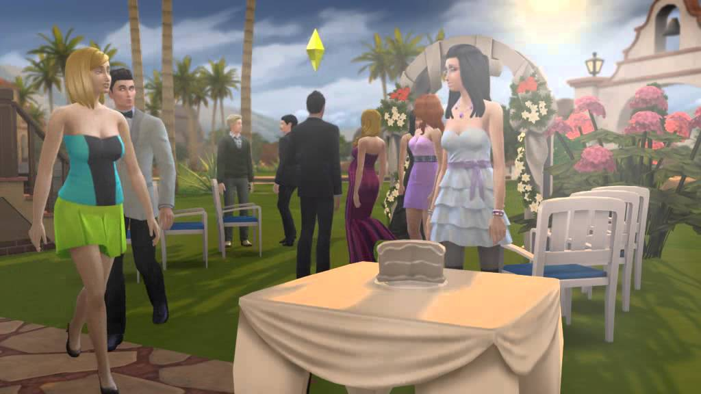 Sims  Wedding Where Is The Cake