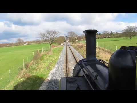 View From Footplate Of A1X Terrier 32678 'Knowle' On Climb Up Tenterden Bank, K&ESR