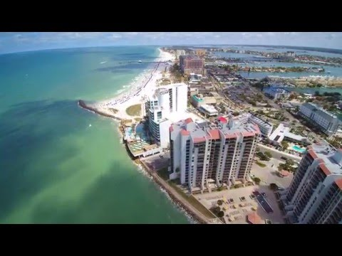 Clearwater Beach Florida/Sand Key Park/Drone