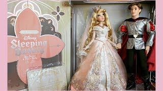 Sleeping Beauty 60th Anniversary The Aurora & Prince Phillip Limited Edition Wedding Doll Set Review