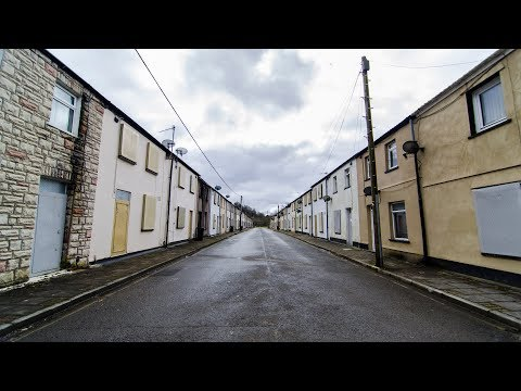 The Abandoned welsh streets of South wales