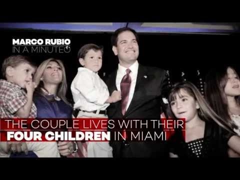 Marco Rubio In A Minute: Florida Senator is Expected to Announce 2016 Presidential Campaign