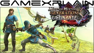 Monster Hunter Generations Ultimate - Breath of the Wild Crossover Trailer
