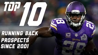 Top 10 Running Back Prospects Since 2001 | Bucky Brooks | Move the Sticks | NFL