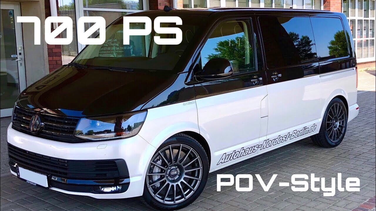 pov style highspeed im hgp vw t5 t6 3 6 biturbo 700 ps by autohaus nordost berlin youtube. Black Bedroom Furniture Sets. Home Design Ideas