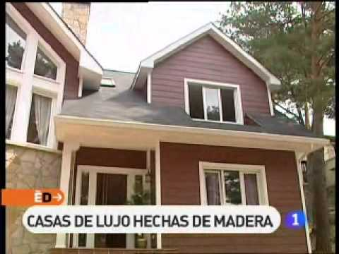 Reportaje de espa a directo sobre casas canadienses de for Casas canadienses