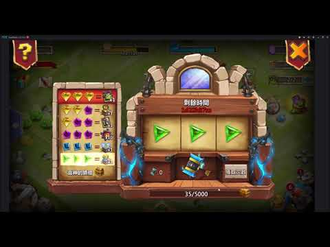 Castle Clash HALLOWEEN UPDATE Talk And POCAY's Lucky HAMMER Lol