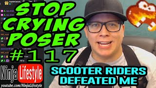 Ep. #117: Stop Crying Poser (The Scooters Finally Win)
